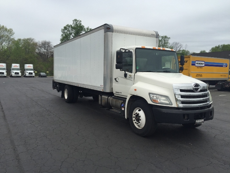 Medium Duty Box Truck-Light and Medium Duty Trucks-Hino-2011-268-BALTIMORE-MD-362,000 miles-$22,750