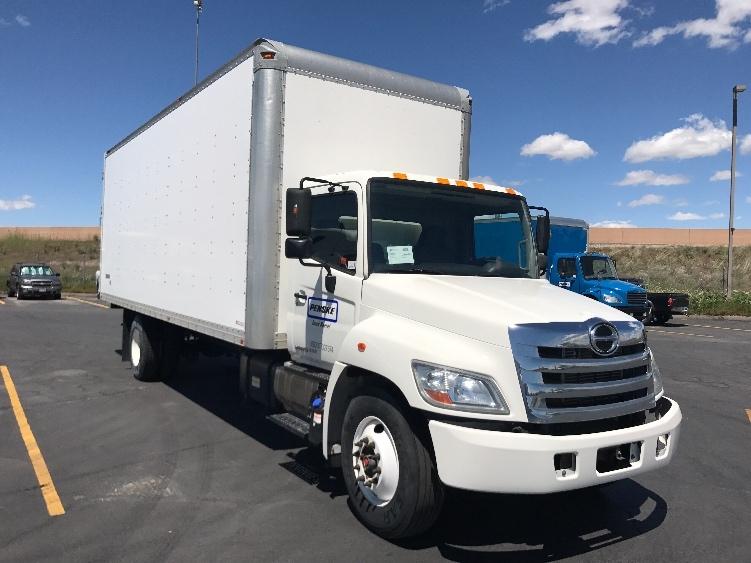 Medium Duty Box Truck-Light and Medium Duty Trucks-Hino-2011-268-WEST VALLEY CITY-UT-192,136 miles-$29,500