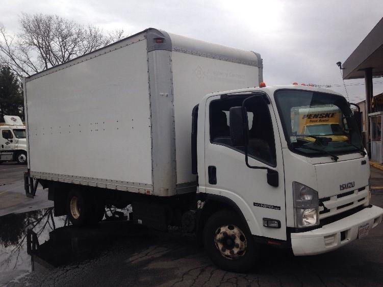 Medium Duty Box Truck-Light and Medium Duty Trucks-Isuzu-2011-NPR-MEDFORD-MA-111,931 miles-$26,750