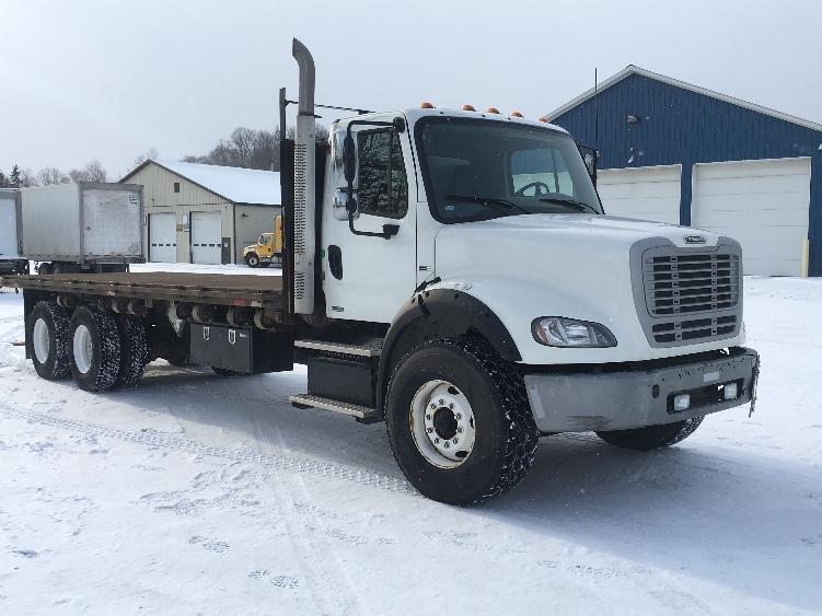 Flatbed Truck-Light and Medium Duty Trucks-Freightliner-2011-M211264S-WHITESBORO-NY-226,735 miles-$58,500