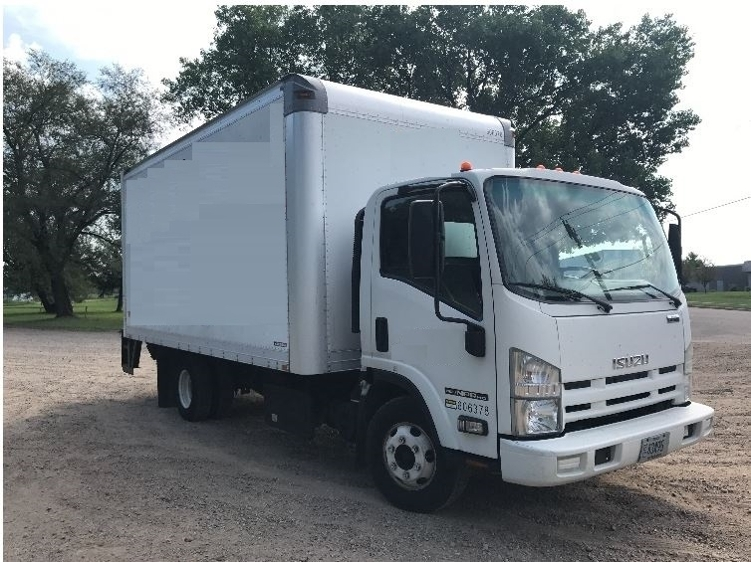 Medium Duty Box Truck-Light and Medium Duty Trucks-Isuzu-2011-NPR-EAU CLAIRE-WI-185,770 miles-$17,000