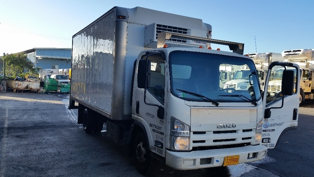 Reefer Truck-Light and Medium Duty Trucks-Isuzu-2011-NPR-TORRANCE-CA-118,081 miles-$34,000
