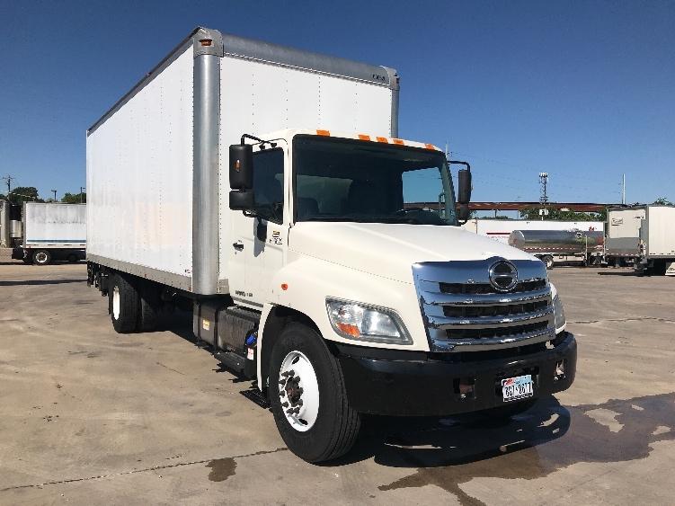 Medium Duty Box Truck-Light and Medium Duty Trucks-Hino-2012-268-FORT WORTH-TX-110,042 miles-$38,750