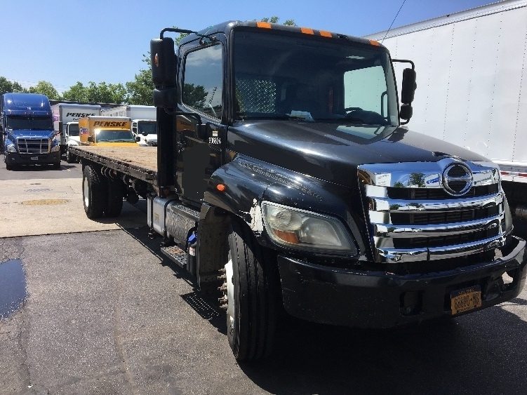 Flatbed Truck-Light and Medium Duty Trucks-Hino-2011-268-WEST BABYLON-NY-126,567 miles-$36,250