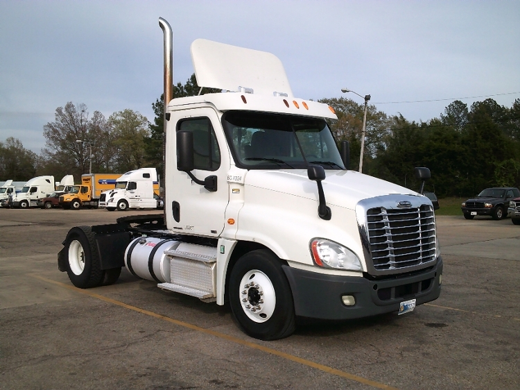 Day Cab Tractor-Heavy Duty Tractors-Freightliner-2012-Cascadia 12542ST-BELDEN-MS-493,805 miles-$32,500