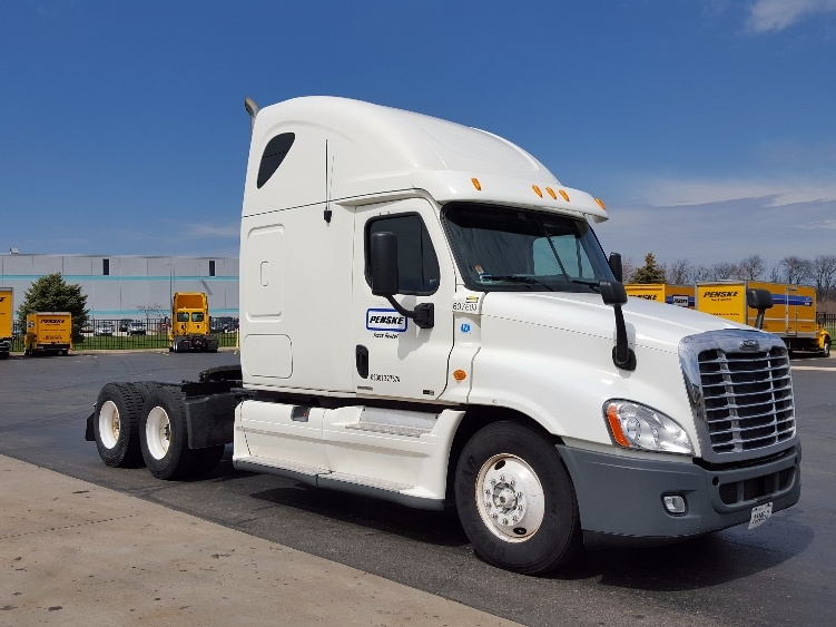 Sleeper Tractor-Heavy Duty Tractors-Freightliner-2012-Cascadia 12564ST-PENNSAUKEN-NJ-524,307 miles-$36,500