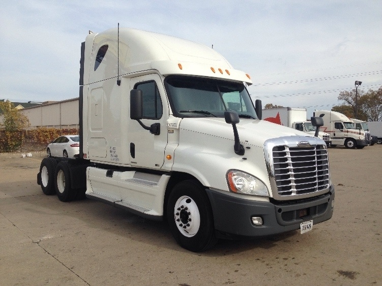 Sleeper Tractor-Heavy Duty Tractors-Freightliner-2012-Cascadia 12564ST-MIDDLEFIELD-OH-532,365 miles-$34,750