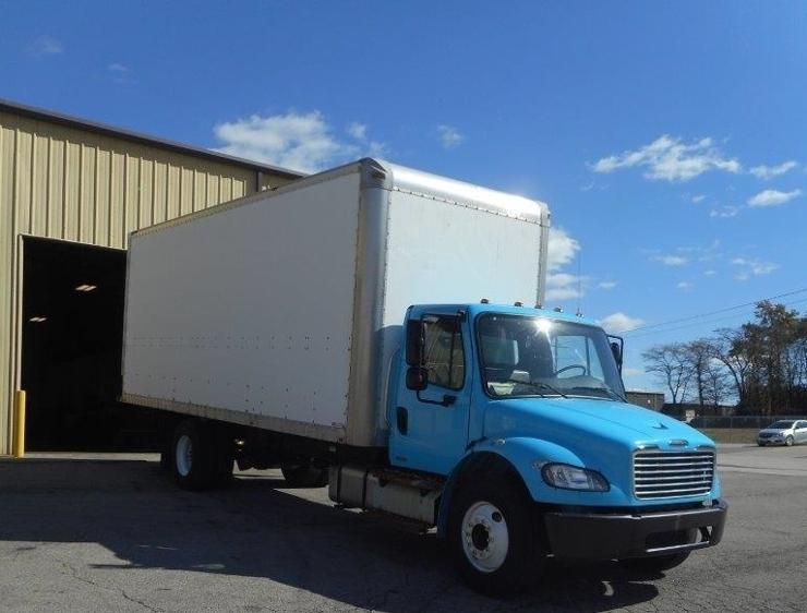 Medium Duty Box Truck-Light and Medium Duty Trucks-Freightliner-2011-M2-EAST LIBERTY-OH-76,313 miles-$34,000