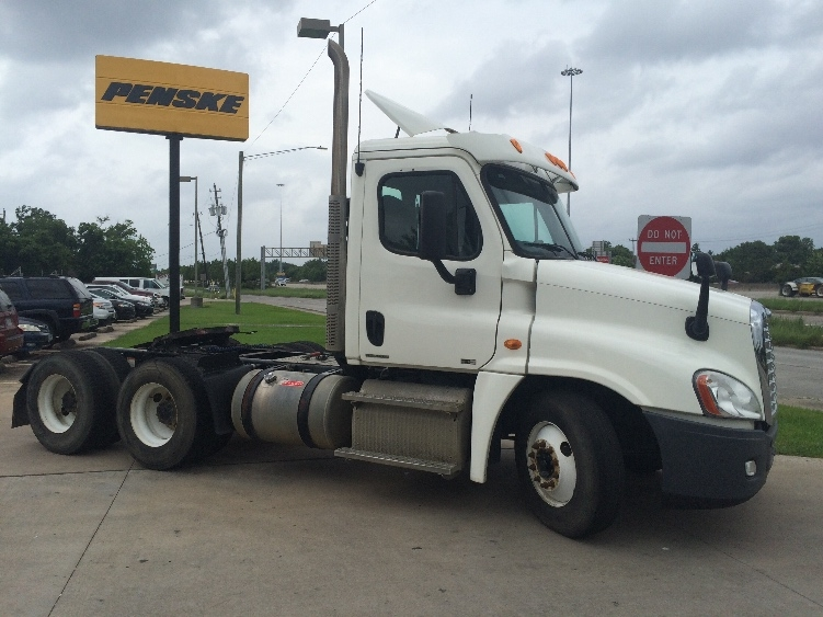Day Cab Tractor-Heavy Duty Tractors-Freightliner-2012-Cascadia 12564ST-HOUSTON-TX-261,569 miles-$41,500