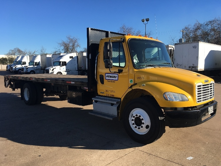 Flatbed Truck-Light and Medium Duty Trucks-Freightliner-2012-M2-HOUSTON-TX-185,681 miles-$38,500