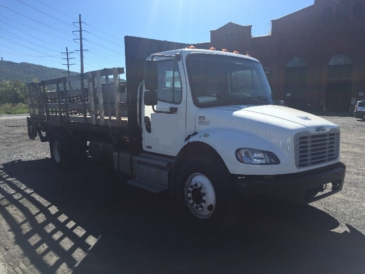 Flatbed Truck-Light and Medium Duty Trucks-Freightliner-2012-M2-READING-PA-154,686 miles-$36,750