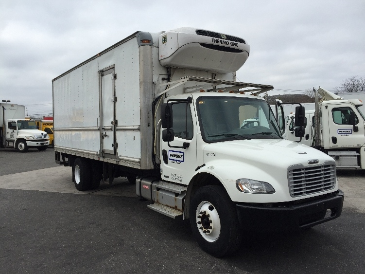 Reefer Truck-Light and Medium Duty Trucks-Freightliner-2012-M2-NEW BEDFORD-MA-145,254 miles-$42,750