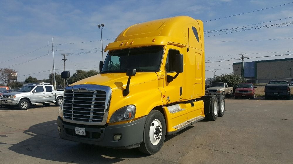 Sleeper Tractor-Heavy Duty Tractors-Freightliner-2012-Cascadia 12564ST-LAS VEGAS-NV-487,504 miles-$42,250