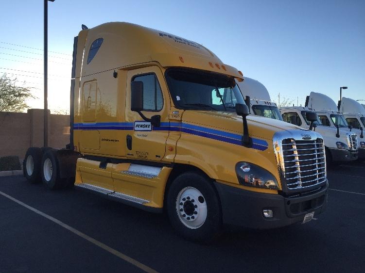 Sleeper Tractor-Heavy Duty Tractors-Freightliner-2012-Cascadia 12564ST-PHOENIX-AZ-477,102 miles-$45,000