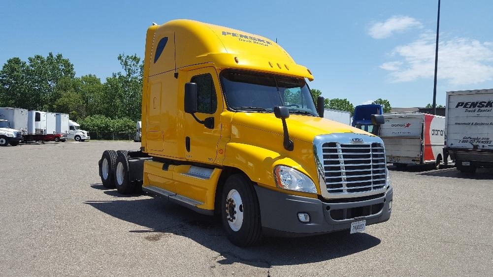 Sleeper Tractor-Heavy Duty Tractors-Freightliner-2012-Cascadia 12564ST-ALLEN PARK-MI-502,865 miles-$35,500