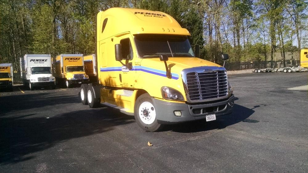 Sleeper Tractor-Heavy Duty Tractors-Freightliner-2012-Cascadia 12564ST-MONTGOMERY-AL-542,597 miles-$35,500