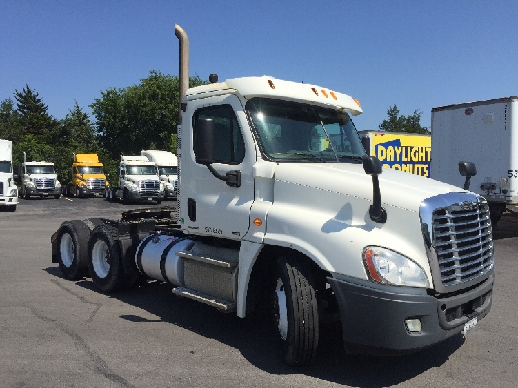 Day Cab Tractor-Heavy Duty Tractors-Freightliner-2012-Cascadia 12564ST-TULSA-OK-312,490 miles-$43,250
