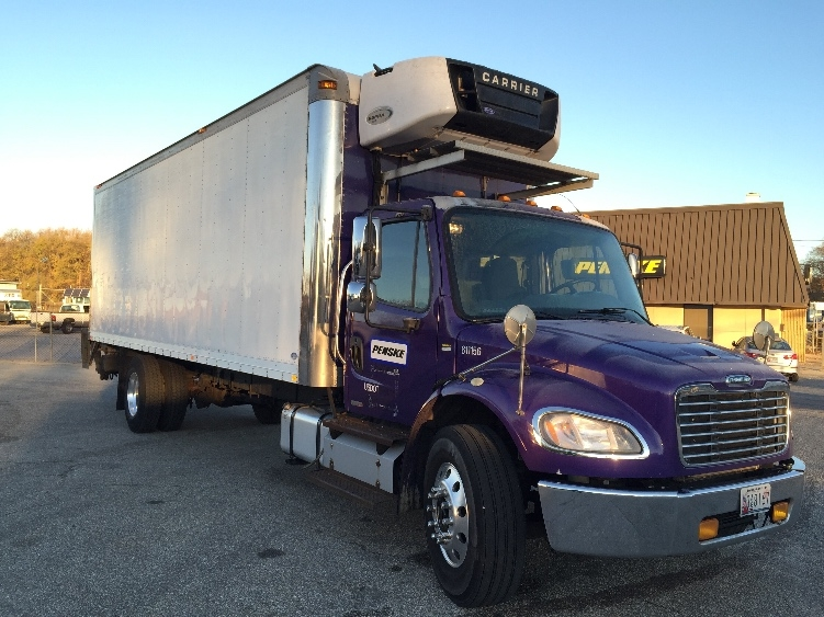 Reefer Truck-Light and Medium Duty Trucks-Freightliner-2012-M2-JESSUP-MD-233,305 miles-$28,750