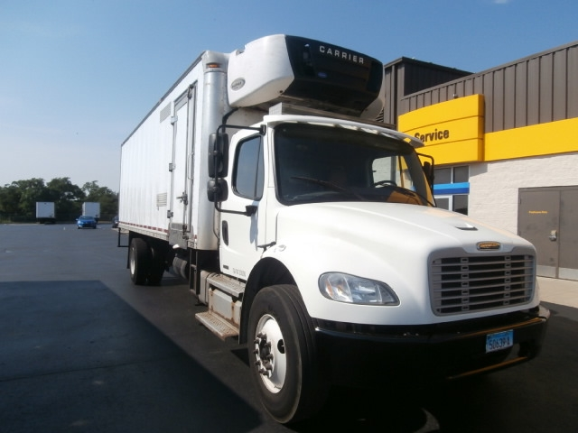 Reefer Truck-TRUCK-Freightliner-2012-M2-WEST HAVEN-CT-269,702 miles-$29,250