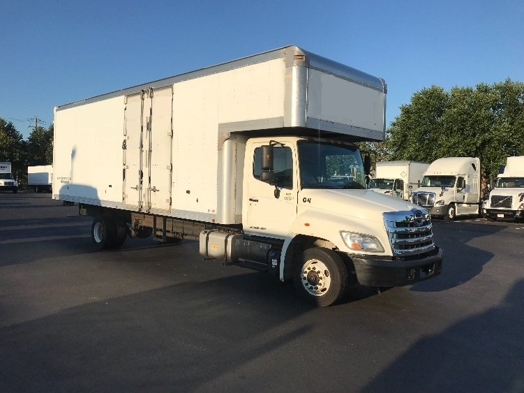 Medium Duty Box Truck-Light and Medium Duty Trucks-Hino-2012-258LP-NEW CASTLE-DE-131,807 miles-$42,250