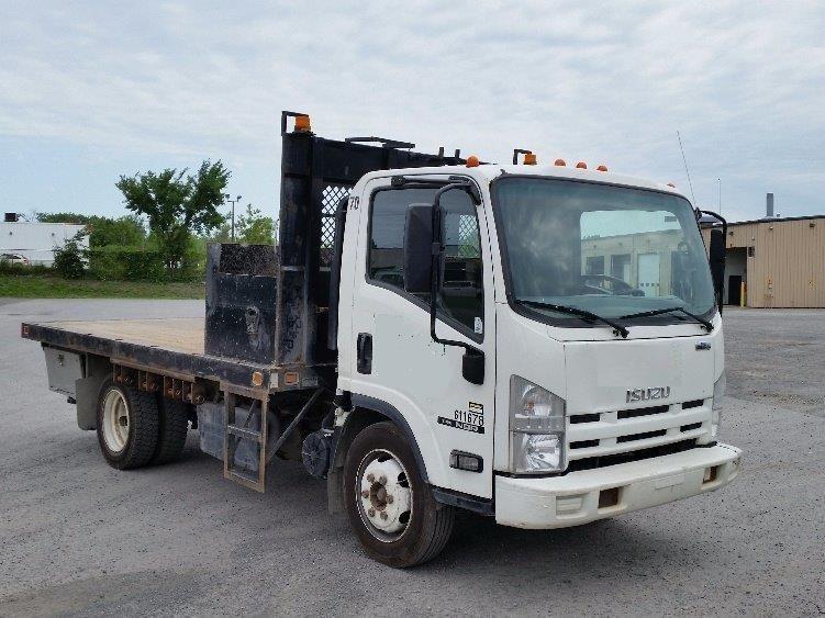Flatbed Truck-Light and Medium Duty Trucks-Isuzu-2011-NQR-MONTREAL-PQ-149,882 km-$24,250