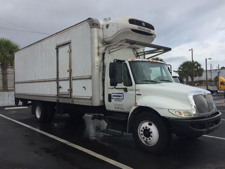 Reefer Truck-Light and Medium Duty Trucks-International-2012-4300-TAMPA-FL-168,381 miles-$34,000