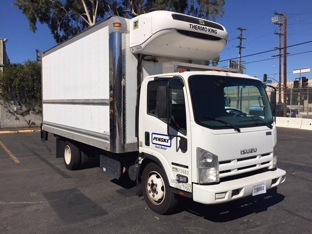 Reefer Truck-Light and Medium Duty Trucks-Isuzu-2011-NQR-TORRANCE-CA-111,036 miles-$38,000