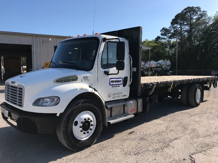 Flatbed Truck-Light and Medium Duty Trucks-Freightliner-2012-M2-PANAMA CITY-FL-92,191 miles-$52,750