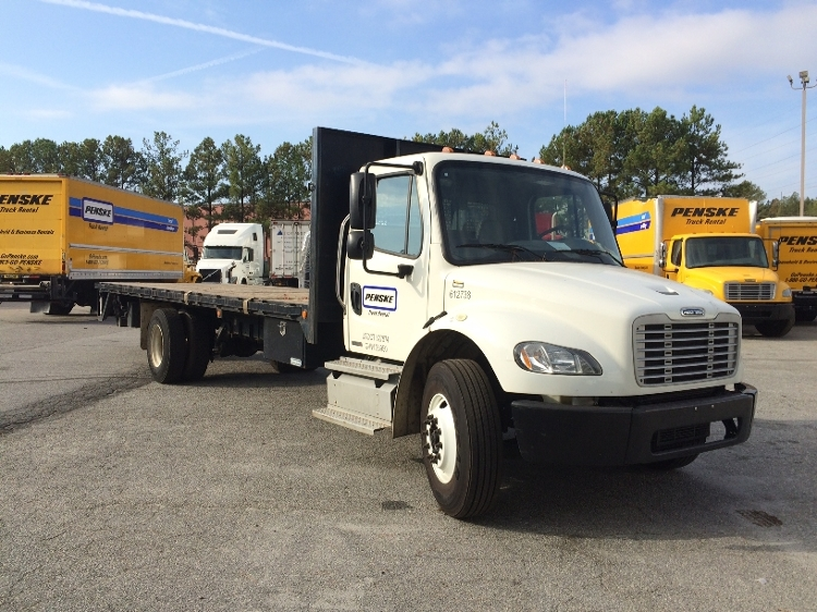 Flatbed Truck-Light and Medium Duty Trucks-Freightliner-2012-M2-NORCROSS-GA-124,808 miles-$51,500