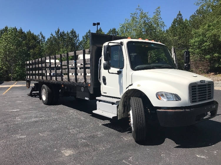 Flatbed Truck-Light and Medium Duty Trucks-Freightliner-2012-M2-DULUTH-GA-62,514 miles-$54,750