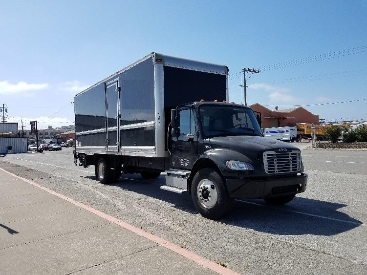 Medium Duty Box Truck-Heavy Duty Tractors-Freightliner-2012-M2-SAN FRANCISCO-CA-72,296 miles-$44,500