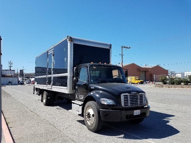Medium Duty Box Truck-Heavy Duty Tractors-Freightliner-2012-M2-SAN FRANCISCO-CA-72,260 miles-$47,500