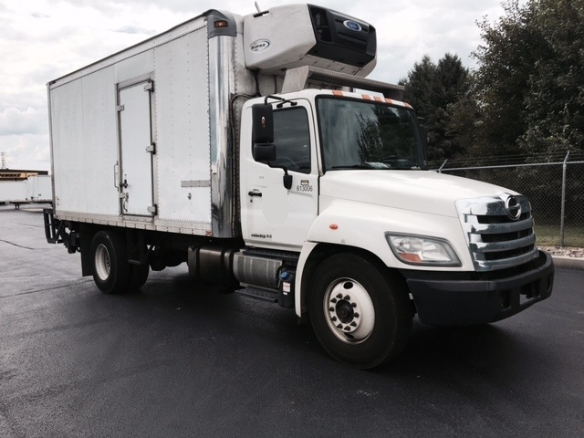 Reefer Truck-Light and Medium Duty Trucks-Hino-2012-268-LANCASTER-PA-304,463 miles-$31,750