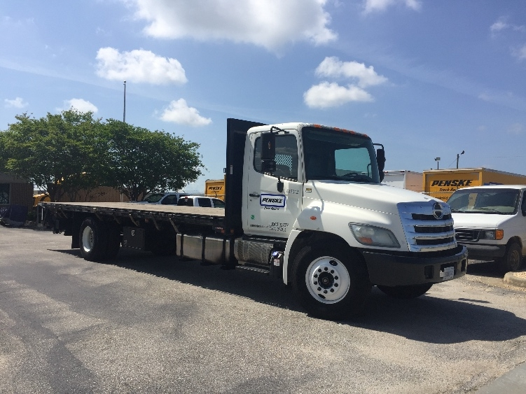 Flatbed Truck-Light and Medium Duty Trucks-Hino-2012-338-JACKSONVILLE-FL-211,051 miles-$38,000