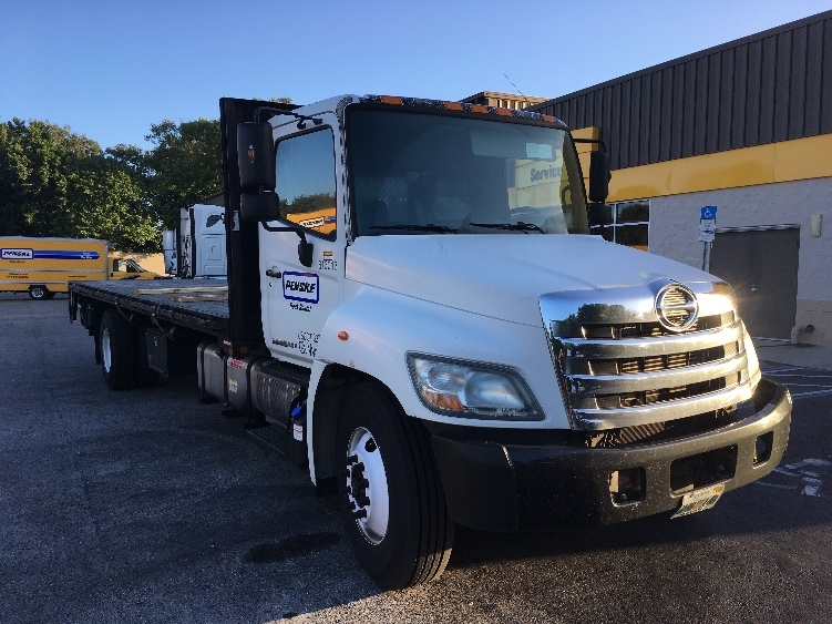 Flatbed Truck-Light and Medium Duty Trucks-Hino-2012-338-TAMPA-FL-144,446 miles-$45,250