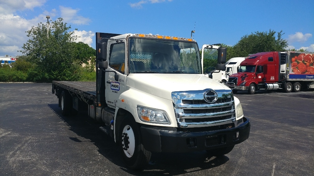 Flatbed Truck-Light and Medium Duty Trucks-Hino-2012-338-LAKELAND-FL-109,439 miles-$48,750
