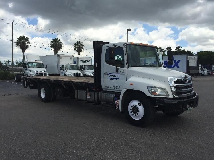 Flatbed Truck-Light and Medium Duty Trucks-Hino-2012-338-MEDLEY-FL-107,344 miles-$49,250