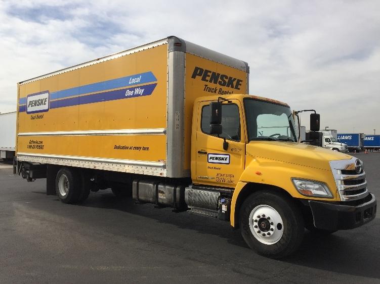 Medium Duty Box Truck-Light and Medium Duty Trucks-Hino-2012-268-PHOENIX-AZ-233,719 miles-$35,500