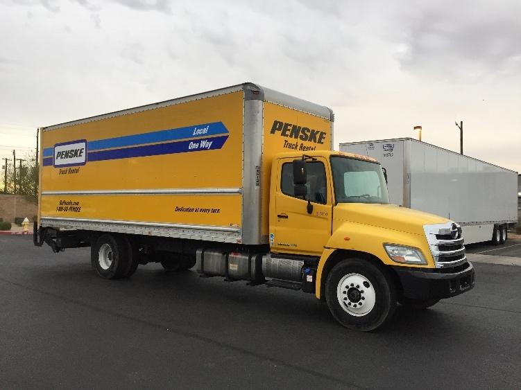 Medium Duty Box Truck-Light and Medium Duty Trucks-Hino-2012-268-PHOENIX-AZ-210,097 miles-$40,750