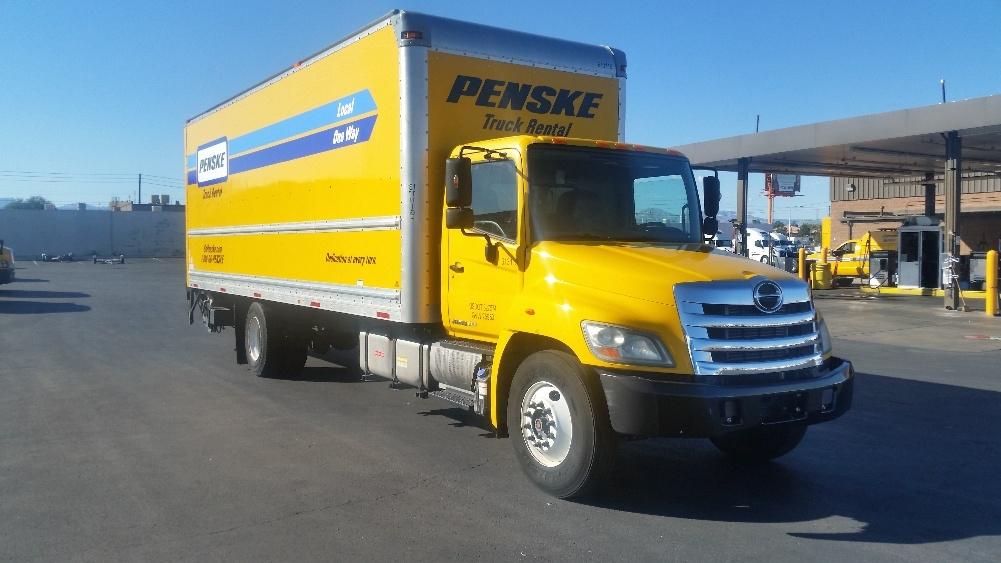 Medium Duty Box Truck-Light and Medium Duty Trucks-Hino-2012-268-LAS VEGAS-NV-150,358 miles-$40,000
