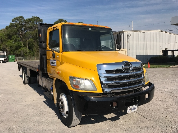 Flatbed Truck-Light and Medium Duty Trucks-Hino-2012-268-MOBILE-AL-89,337 miles-$45,000