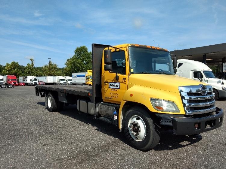Flatbed Truck-Light and Medium Duty Trucks-Hino-2012-268-JACKSONVILLE-FL-124,223 miles-$38,750