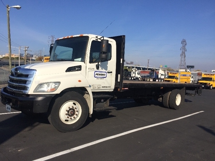 Flatbed Truck-Light and Medium Duty Trucks-Hino-2012-268-LA VERGNE-TN-87,796 miles-$52,000