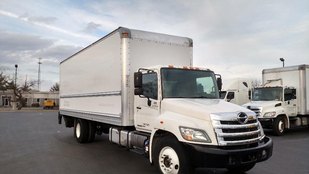 Medium Duty Box Truck-Light and Medium Duty Trucks-Hino-2012-268-NEW CASTLE-DE-176,096 miles-$46,000