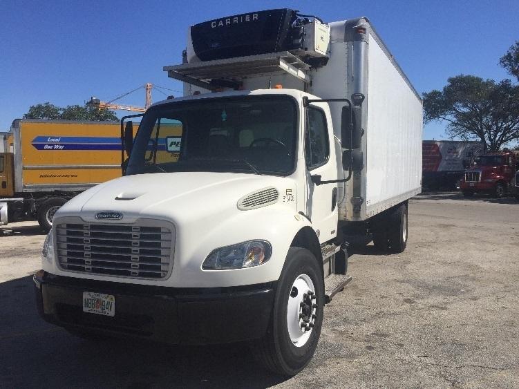 Reefer Truck-Light and Medium Duty Trucks-Freightliner-2012-M2-POMPANO BEACH-FL-204,599 miles-$36,250