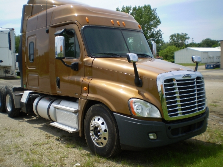 Sleeper Tractor-Heavy Duty Tractors-Freightliner-2012-Cascadia 12564ST-WARSAW-IN-424,663 miles-$42,500