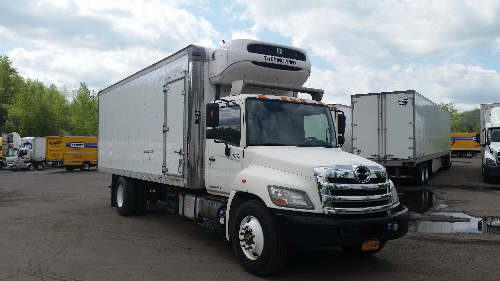 Reefer Truck-Light and Medium Duty Trucks-Hino-2012-268-BINGHAMTON-NY-298,734 miles-$24,500