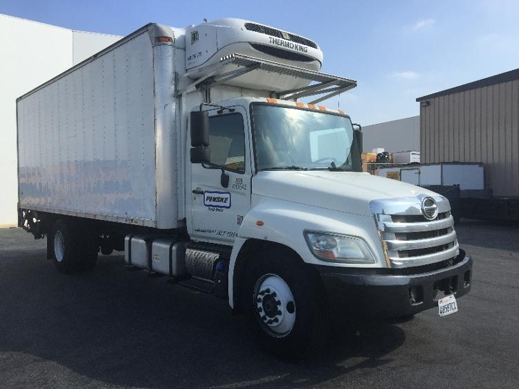Reefer Truck-Light and Medium Duty Trucks-Hino-2012-338-CERES-CA-159,032 miles-$39,500