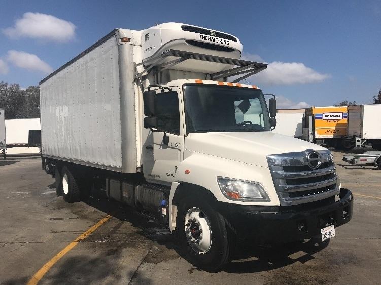 Reefer Truck-Light and Medium Duty Trucks-Hino-2012-338-TORRANCE-CA-165,110 miles-$35,500