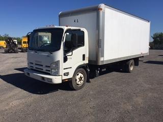 Medium Duty Box Truck-Light and Medium Duty Trucks-Isuzu-2011-NQR-MONTREAL-PQ-143,268 km-$31,500